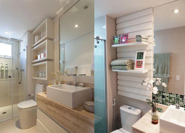 Ideias Banheiros Pequenos : Ideias estilosas para o banheiro banheiros