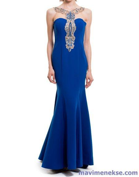 Saks Mavisi Abiye Elbise Modelleri Elbise Modelleri Elbise