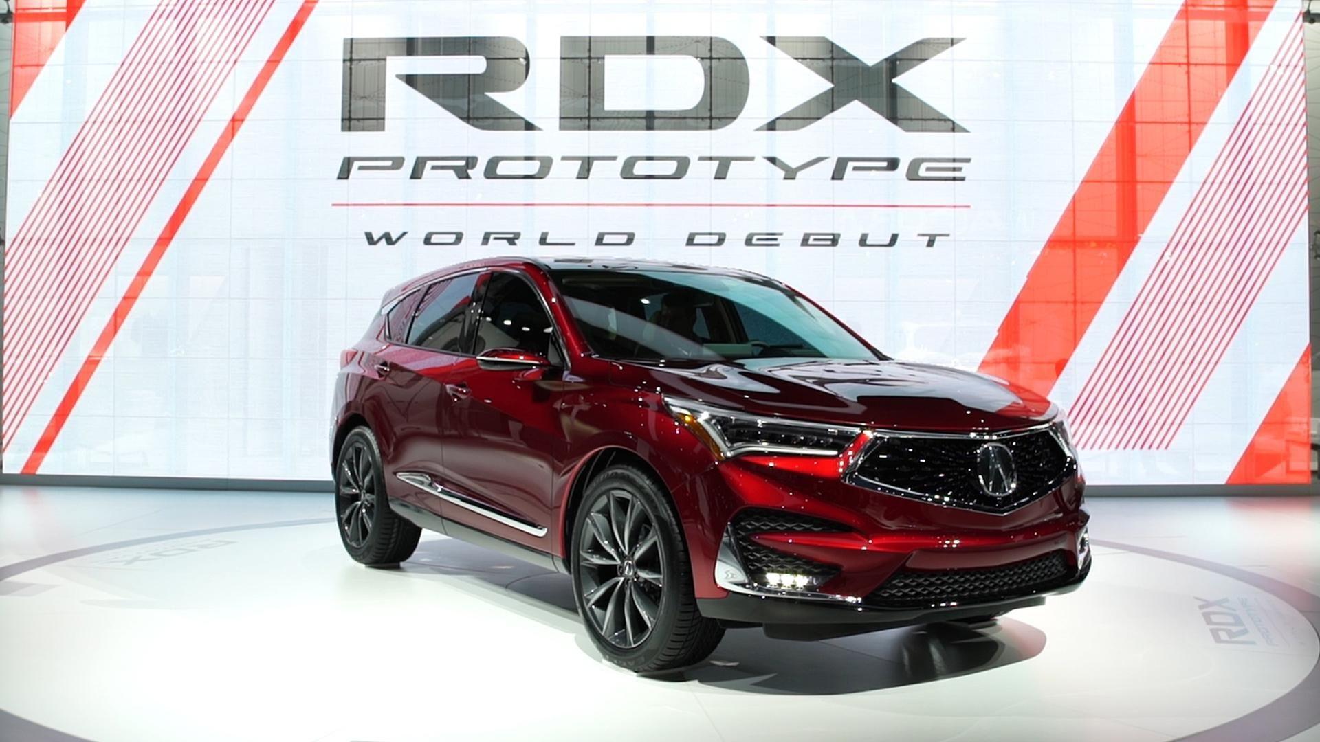 AllNew 2019 Acura RDX Gains Advanced Safety Systems
