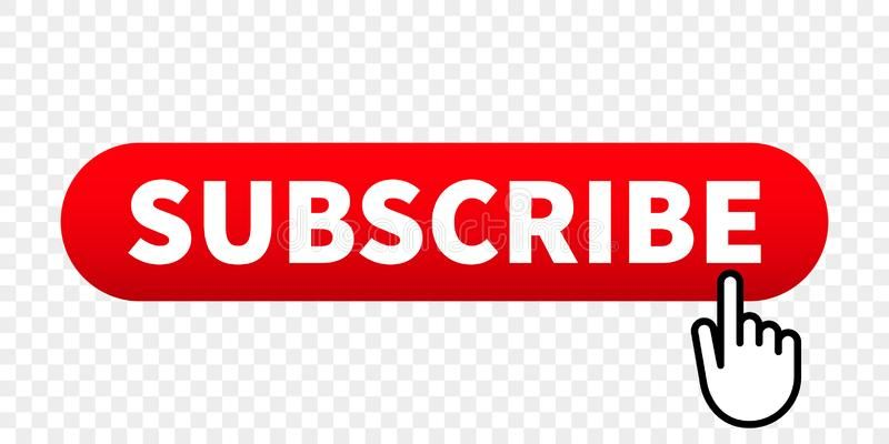 Subscribe Web Site Vector Red Button With Hand Finger Click Pointer Subscribe W Aff Vector Red Button Sub Youtube Channel Ideas Pointers Red Button