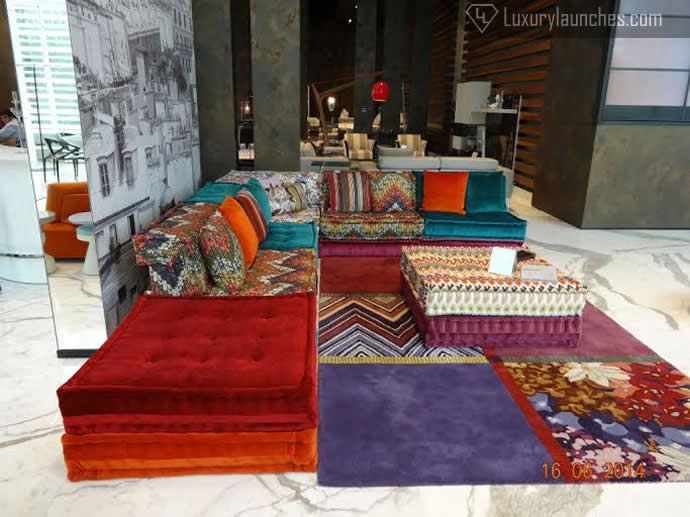 Roche bobois brings the french art of living to indian - Canape mah jong roche bobois ...