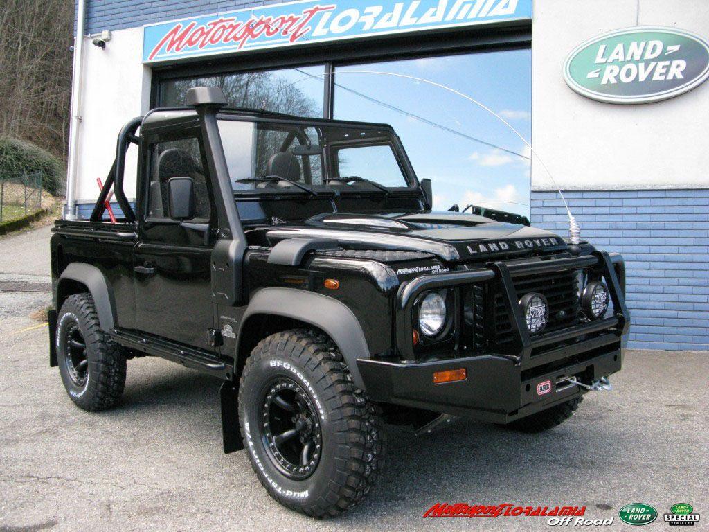 Land rover defender 90 td4 soft top cabriolet arb black edition special arb australian black edition