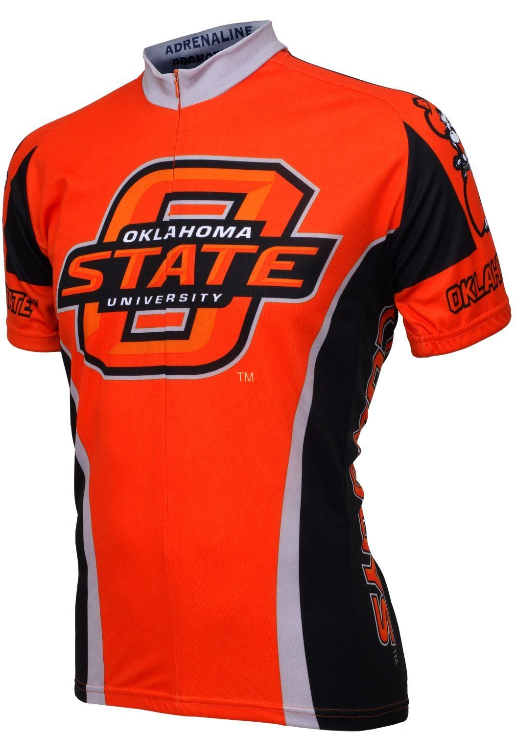 premium selection 66f34 8fe36 Amazon.com: NCAA Oklahoma State Cowboys Cycling Jersey ...