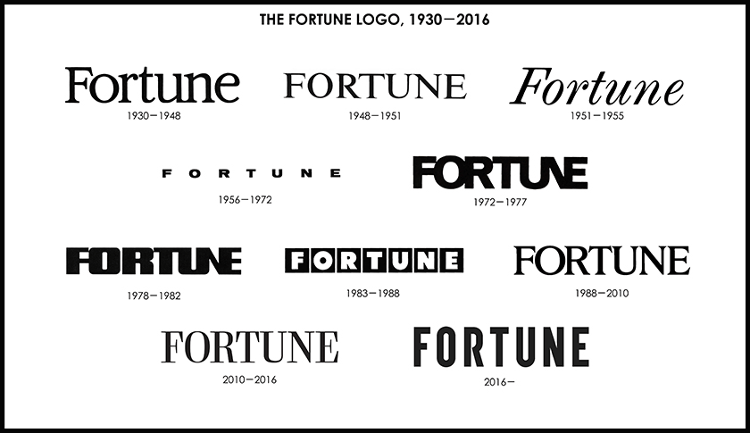 New Logo And Cover For Fortune Done In House Advertising Logo Typography Branding Fortune