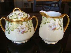 antique limoges creamer and sugar bowl - Pesquisa Google