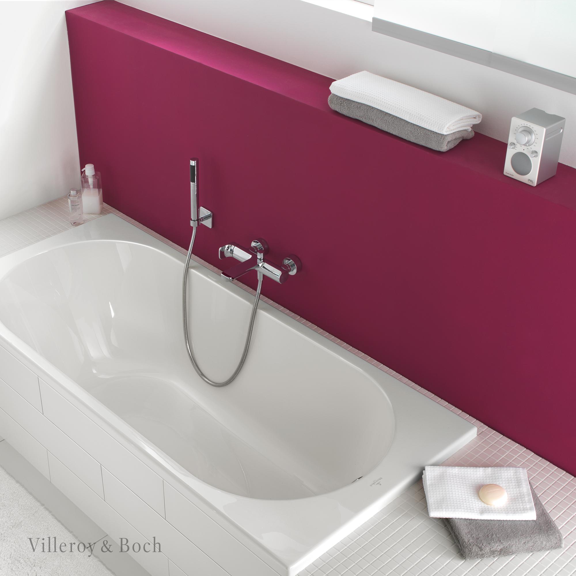 New Bathroom Design Eingebaute Badewanne Waschtisch Badewanne
