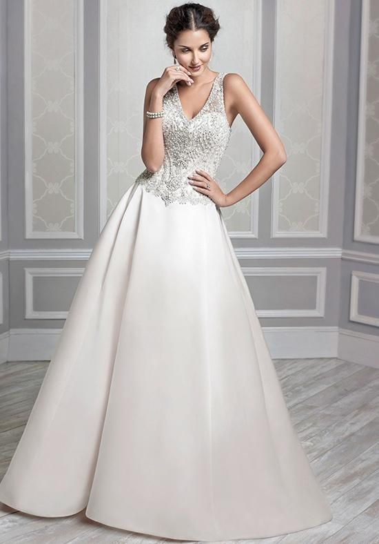 Kenneth Winston Spectacular Wedding Dress Featuring Swarovski Crystals Embroidery Ready Waiting For You To Try Now At Bellissima Weddings Essex