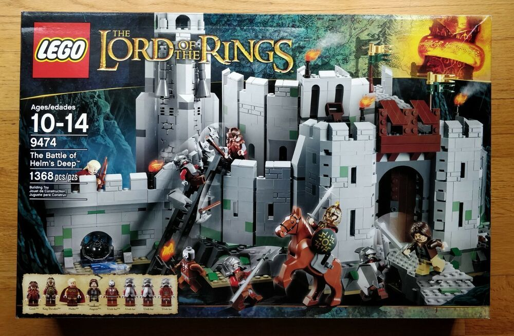 Lego The Lord Of The Rings The Battle Of Helm S Deep 9474 Nib