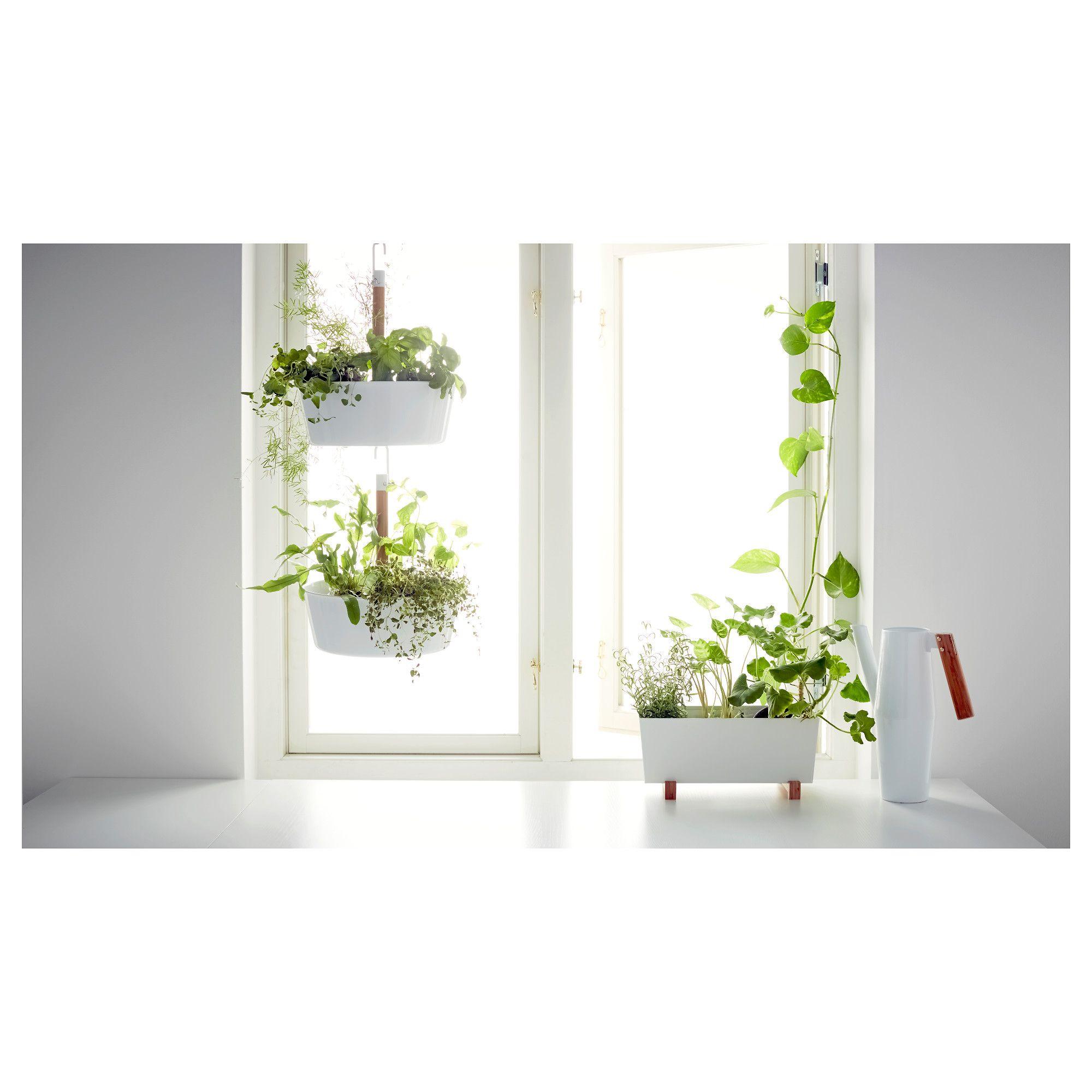 BITTERGURKA Plant pot White 32x15 cm