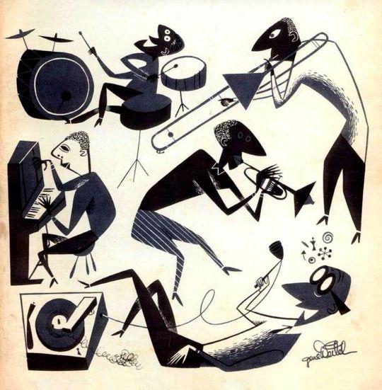Gene Deitch, 1947 vintage graphics