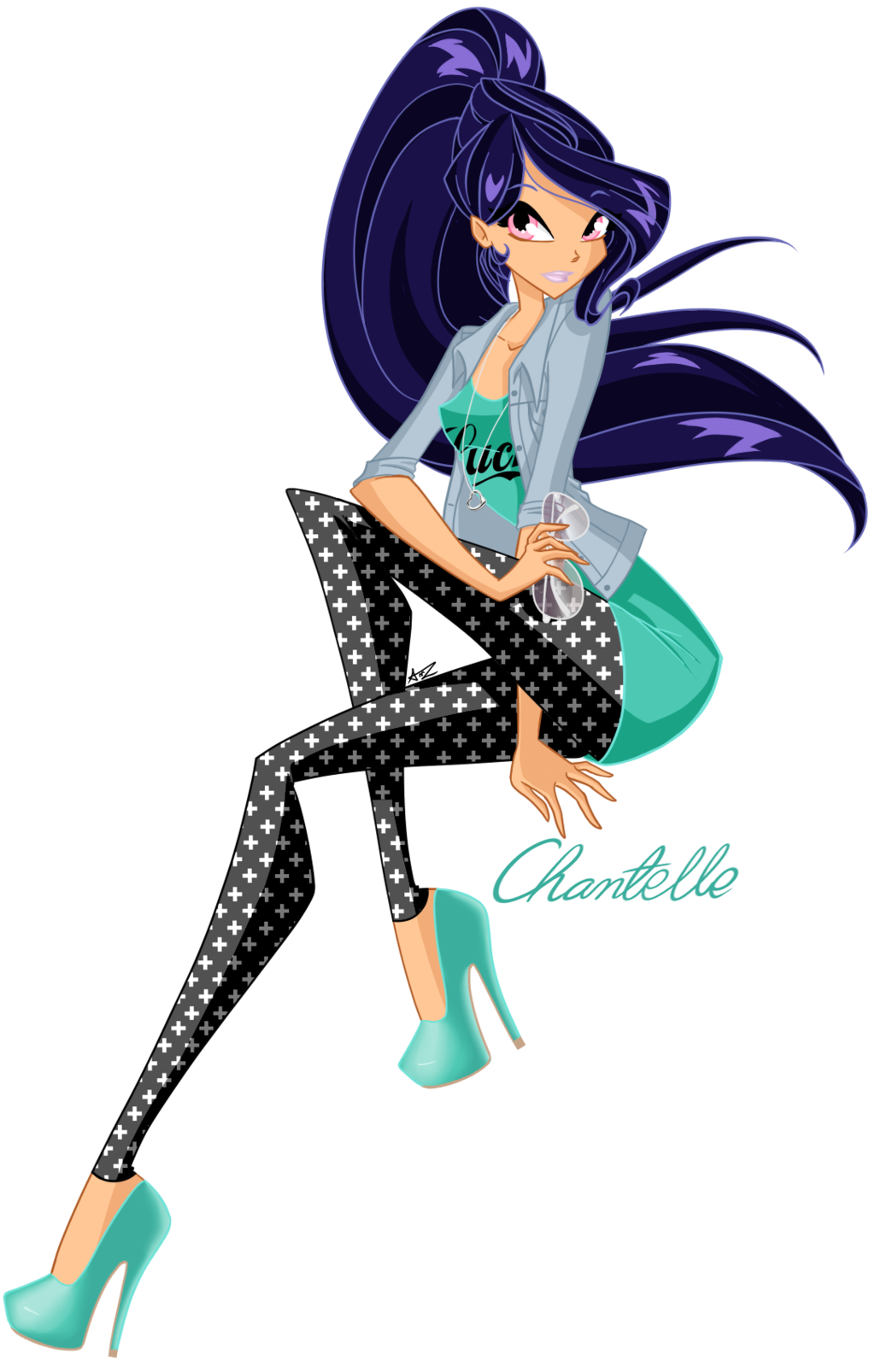 PC: AshaYay - Chantelle by Ameryliz.deviantart.com on @deviantART