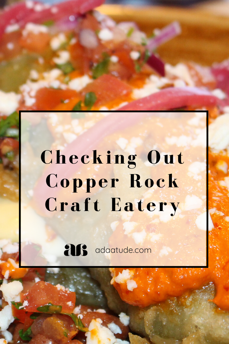 Checking Out Copper Rock Craft Eatery Adaatude In 2020 Eatery Rock Crafts Scrumptious Desserts