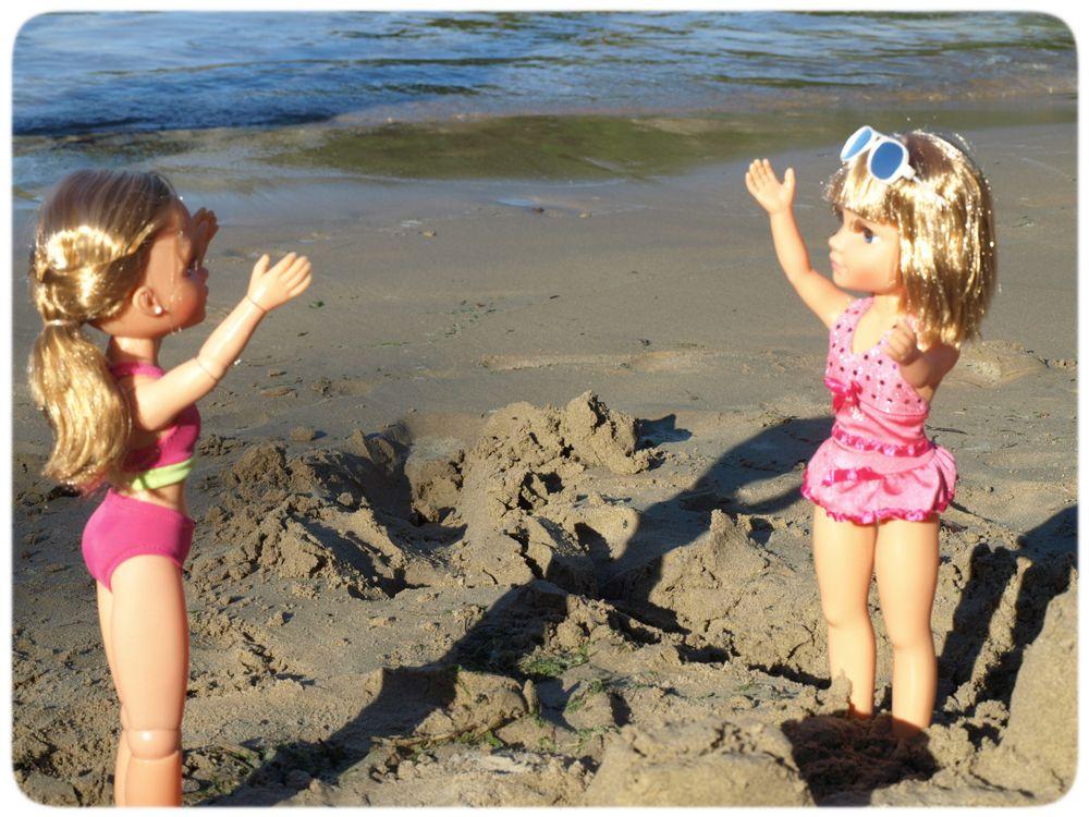 Beach games! #Nancy #dolls #muñecas #poupées #juguetes #toys #bonecas #bambole