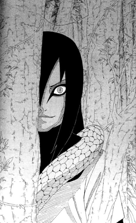 Risultati immagini per orochimaru manga disegno