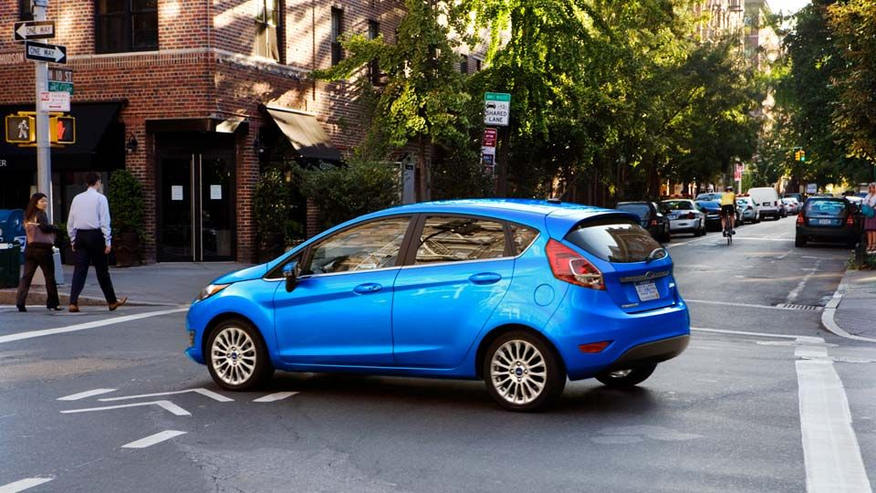 Which Hatchback Has The Most Cargo Space Ford Fiesta