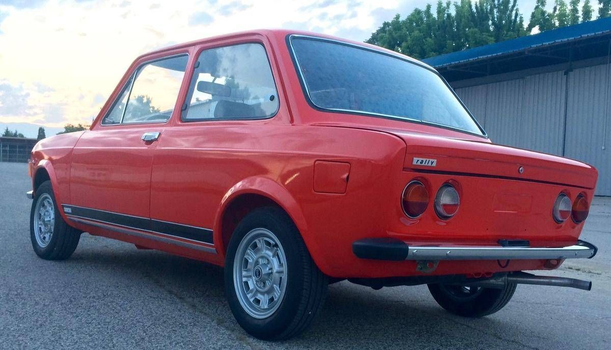 Hemmings Find Of The Day 1973 Fiat 128 Rally Con Imagenes
