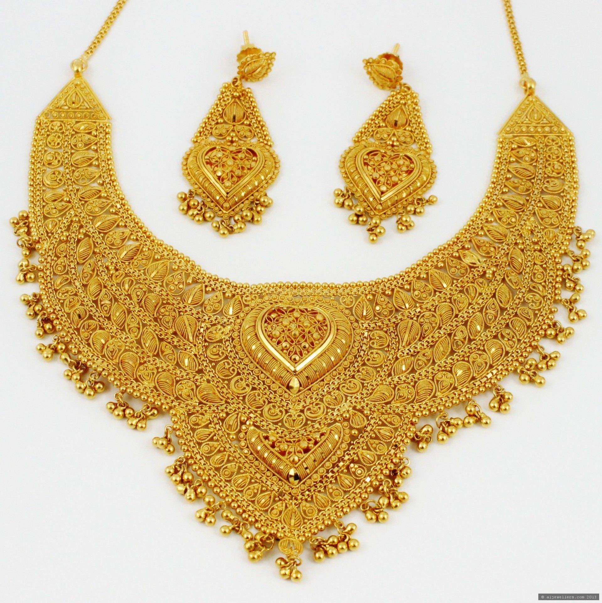 Pai jewellers gold necklace designs latest indian jewellery designs - Indian Gold Jewellery See More Stunning Jewelry At Stellarpieces Com