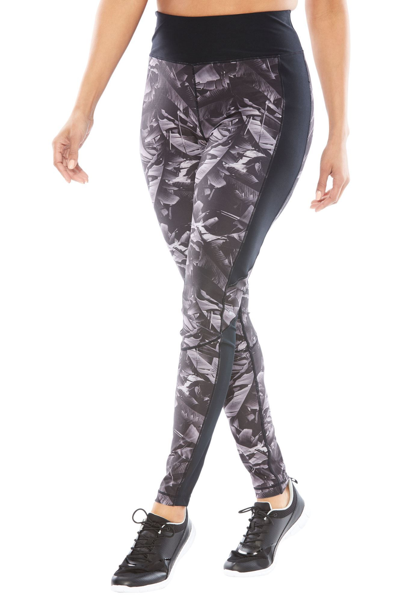 3f848dd9731dd Tummy Control Leggings by fullbeauty SPORT reg  - Women s Plus Size Clothing