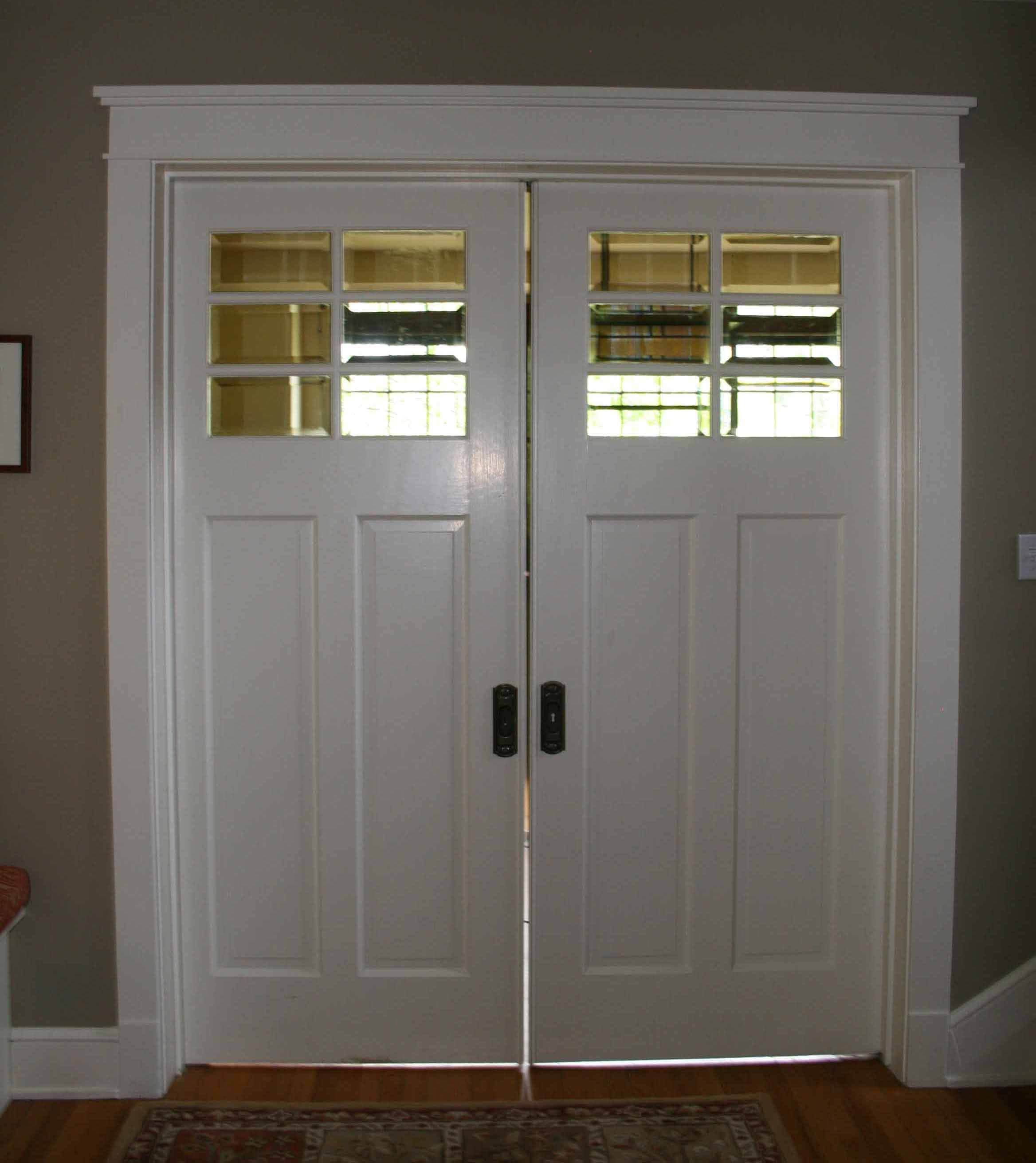 Pocket door perfect for the small bath description from for Pocket door ideas