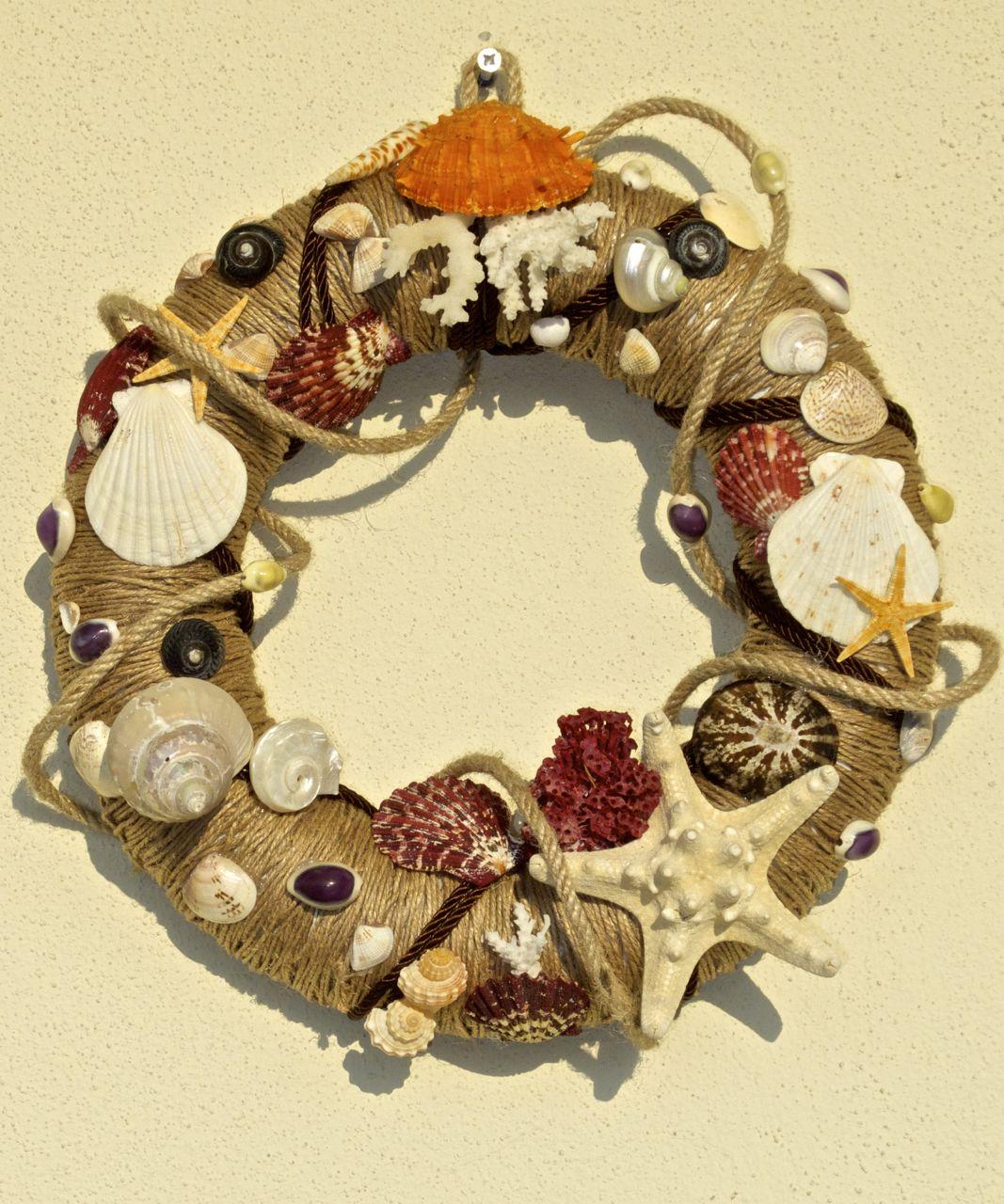 Seashell Wreath / Kapı Süsü