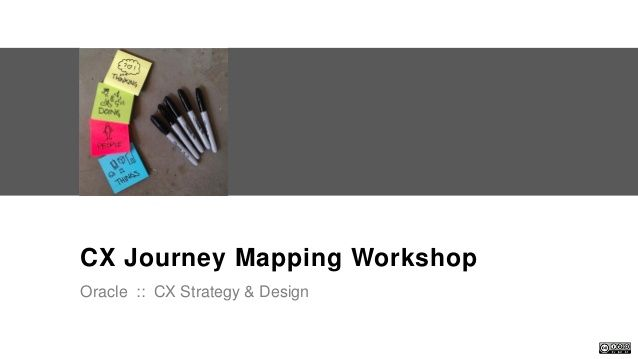 Cx Journey Mapping Workshop Intro Activity By - Oracle customer experience journey mapping