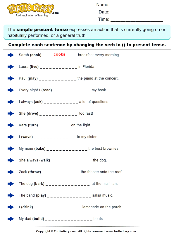 All Worksheets Past Present And Future Tense Worksheets For Kids – Future Tense Worksheets