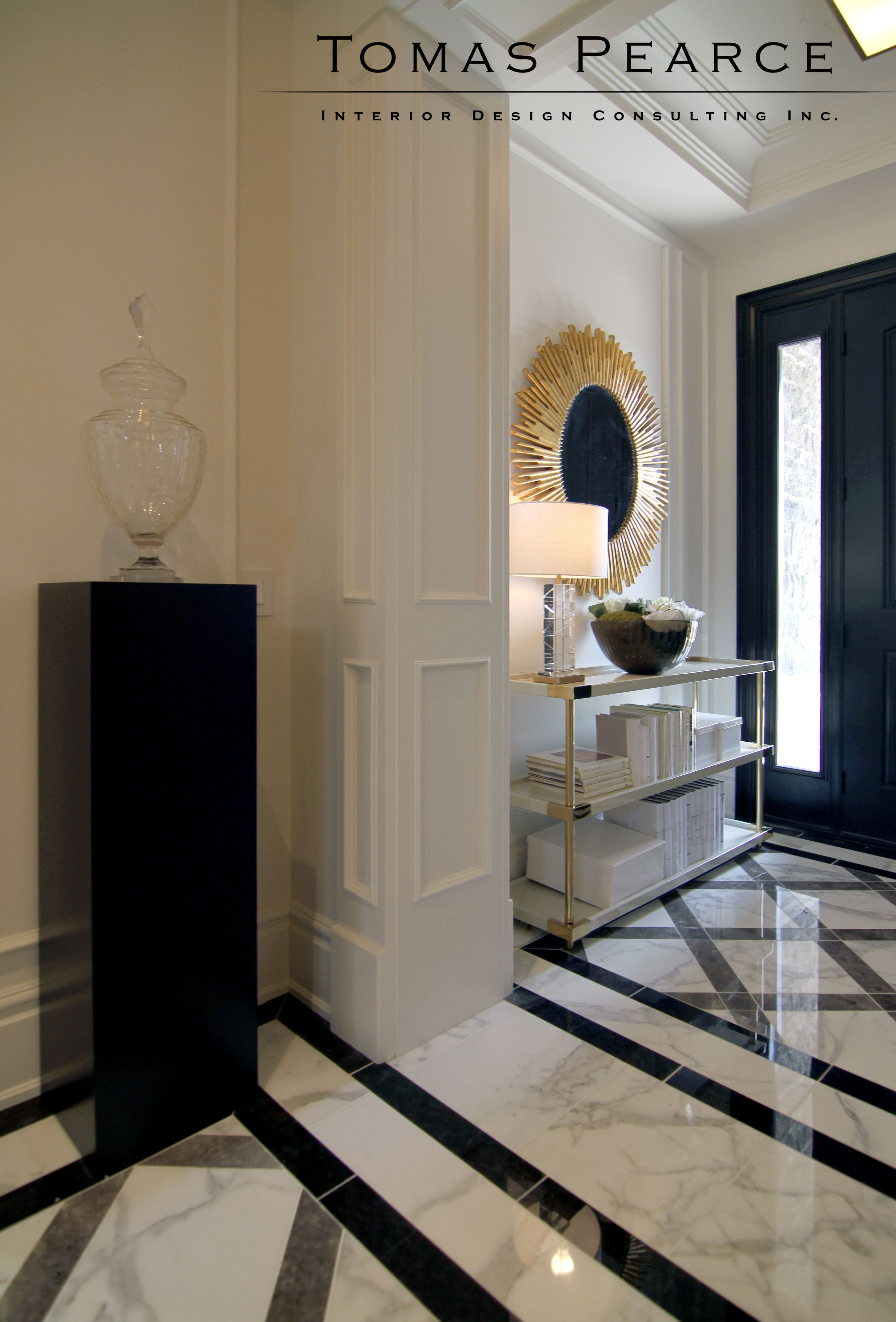 Entry Tomas Pearce Interior Design Consulting Inc Dom