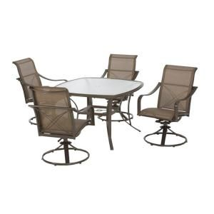 Martha Living Grand Bank 5 Piece Patio Dining Set Home