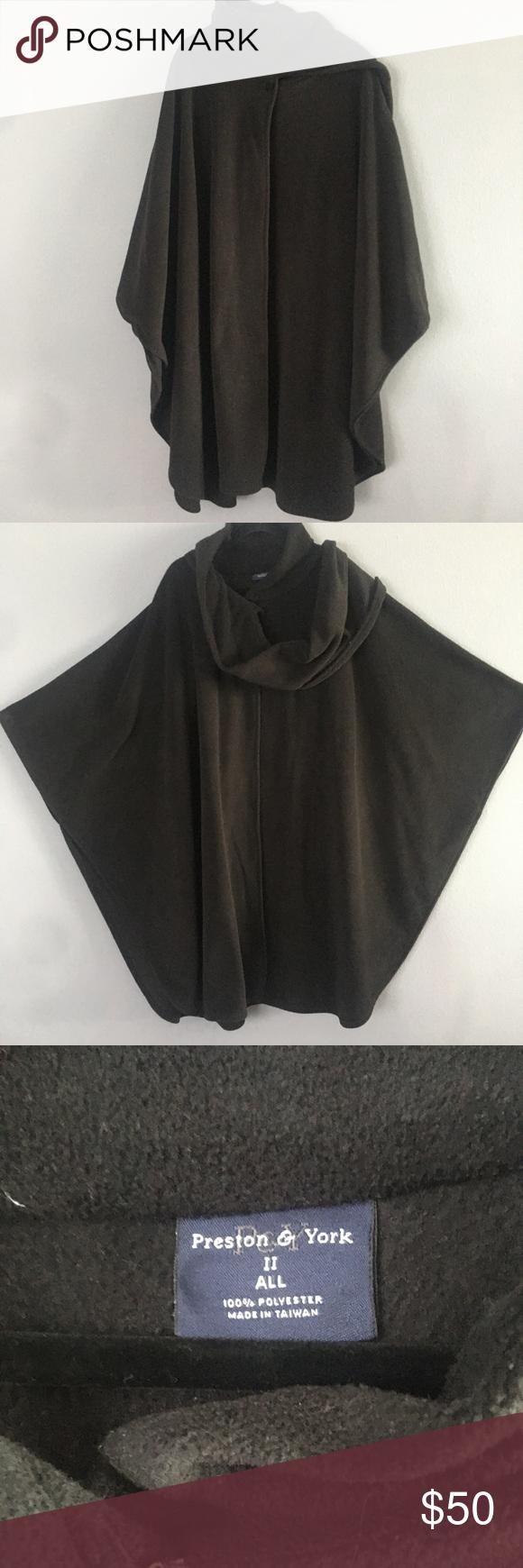 Preston And York Black Cape Style Coat Black Cape Clothes Design Style