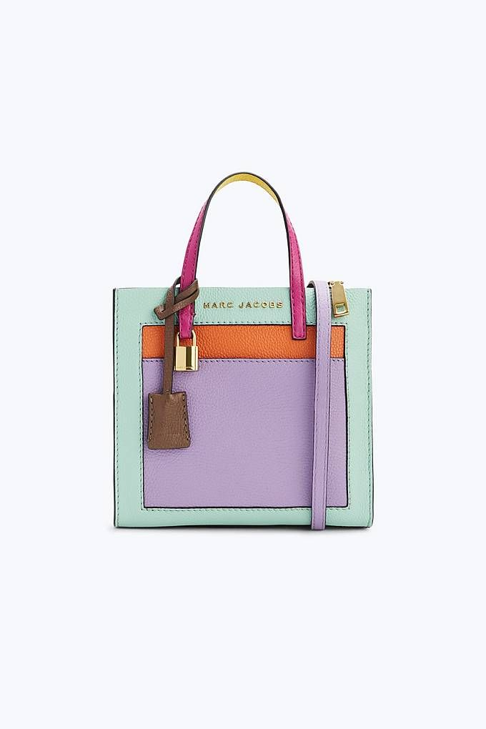 79f1d18e272f Marc Jacobs The Colorblocked Mini Grind Bag in Surf