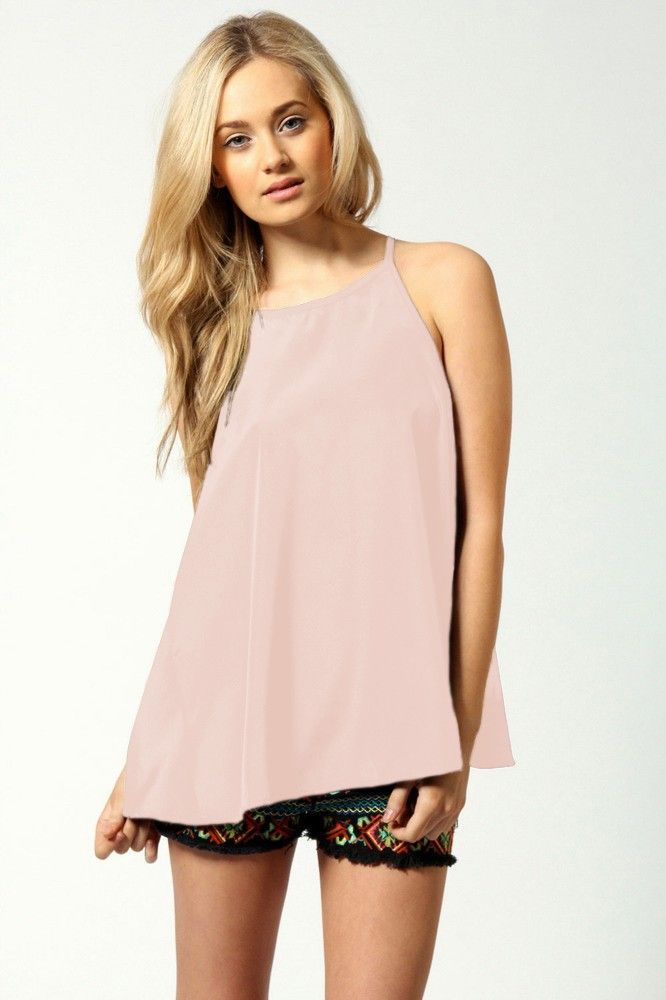 Jennifer Tassel Woven Camisole Pink