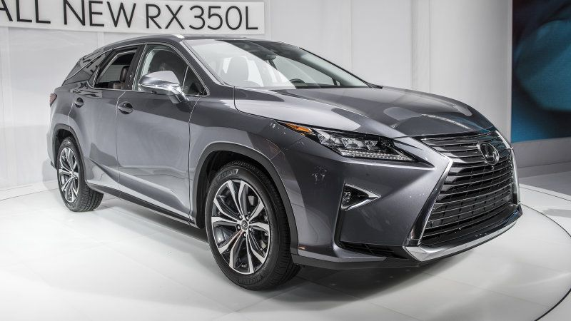 Lexus Rx 350l And Rx 450hl Crossovers Get A Third Row Best Midsize Suv Suv Comparison Best Compact Suv