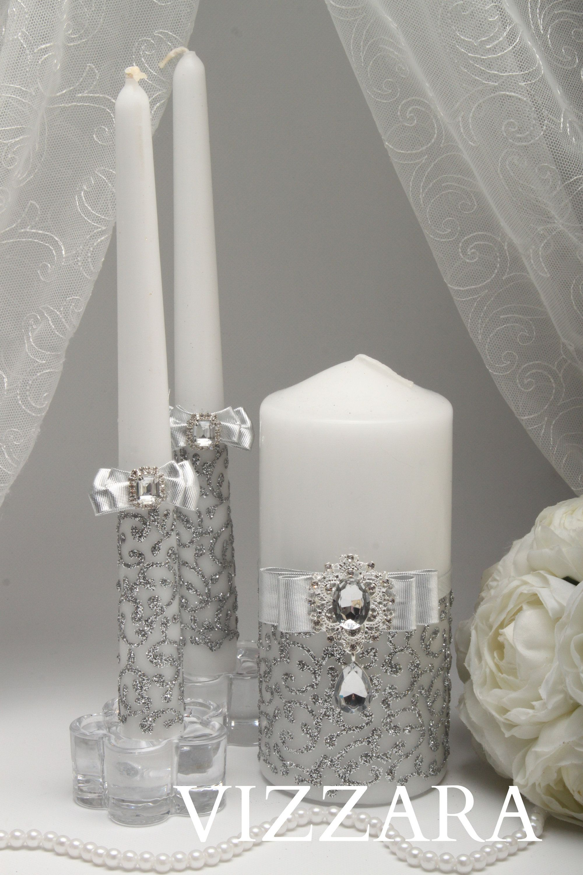 Unity Candle Alternatives Silver Wedding Unity Candles For