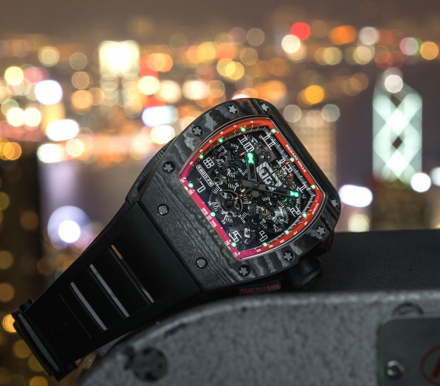 e76563bf4d1 Richard Mille RM 011 Felipe Massa Black Night NTPT Carbon Watch Review - by  David Bredan