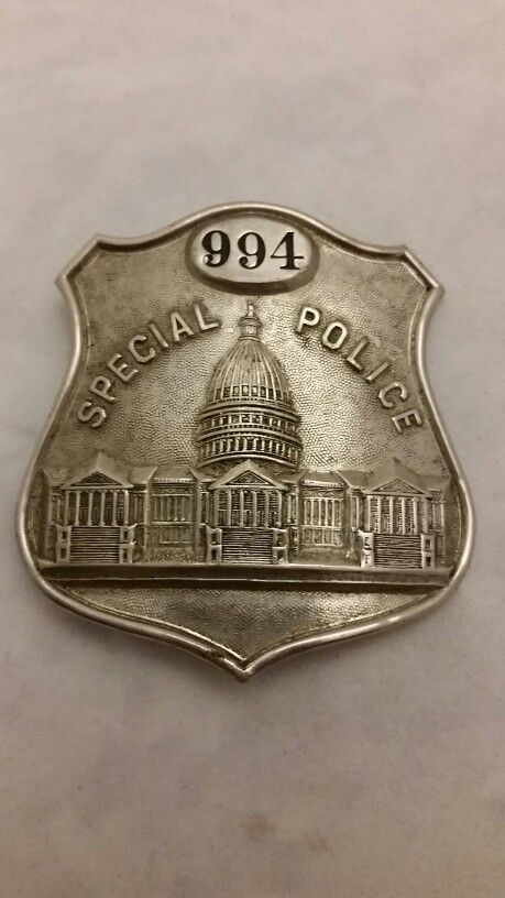 1920's to 30's Washington D.C. Special Police Badge | Coppers and ...