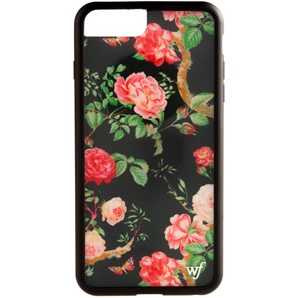 SHOP Wildflower Cases Black Floral Iphone 6/7/8 Plus Phone