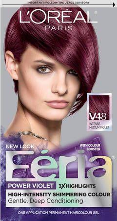 L Oreal Paris Feria Power Violet Permanent Haircolor At Walgreens