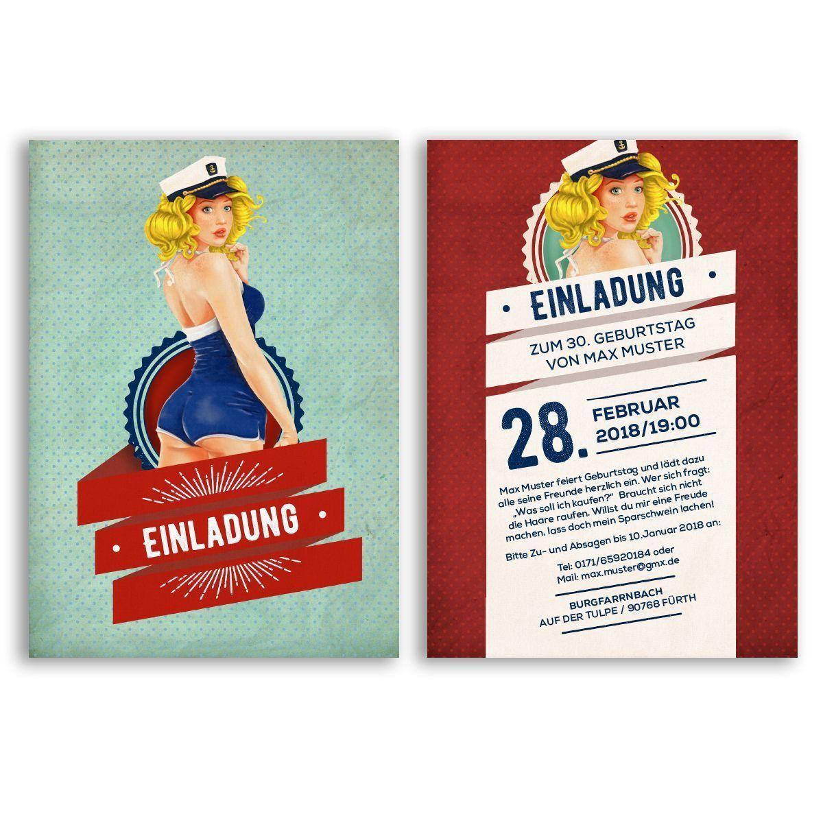 Einladungskarten Geburtstag Einladung Geburtstag Einladung Zum