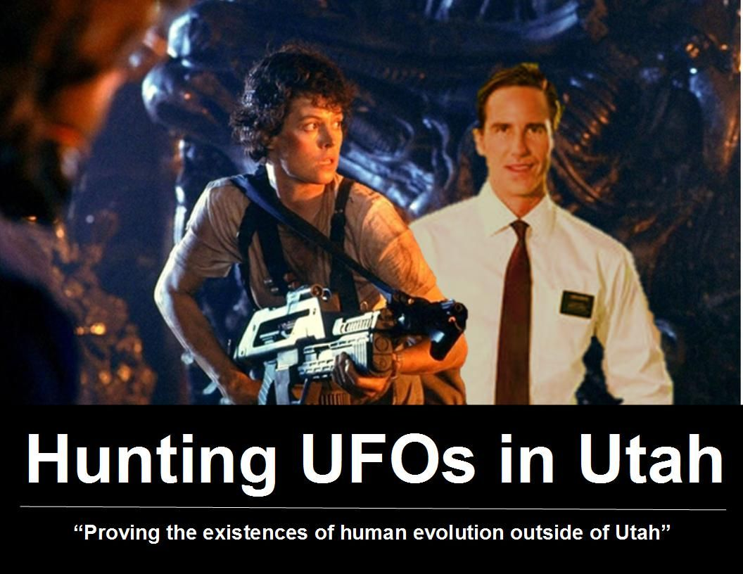 Hunting the UFOs in Utah Coyote Arts posters.
