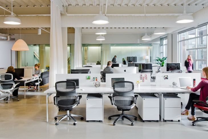 Creative open office spaces google search cool office for Open space office