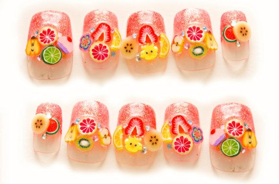 Fruit Nails Art