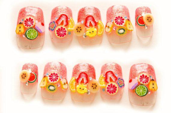 Fruit Nails Art