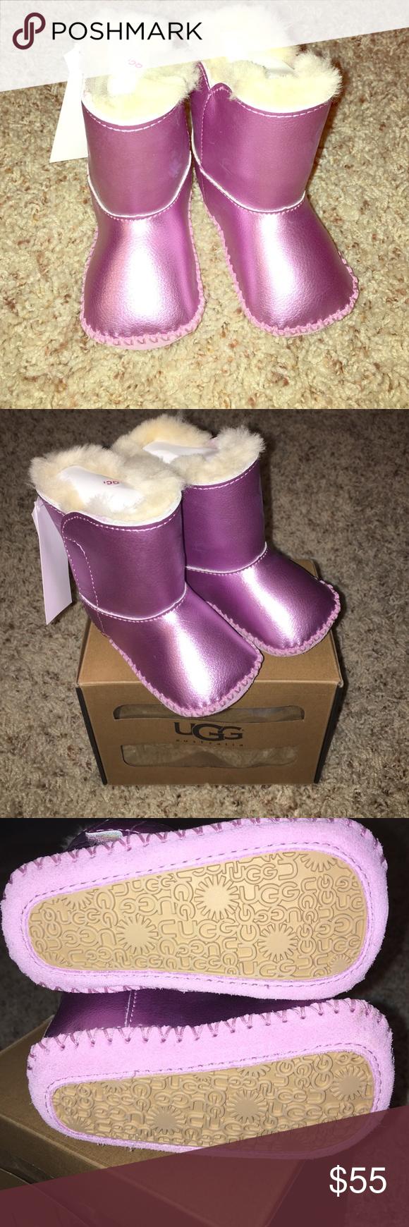 596cfd12fbd Baby Cassie Metallic Pink UGGS Baby Cassie Metallic Pink UGGS. Size 2 3 or  small or 6-12months. Brand New! UGG Shoes Baby   Walker