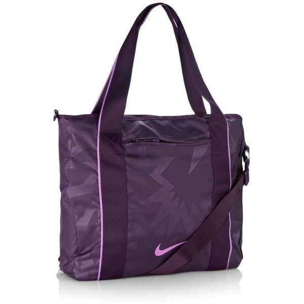 Nike purple Legend Track tote bag ($39) ❤ liked on Polyvore