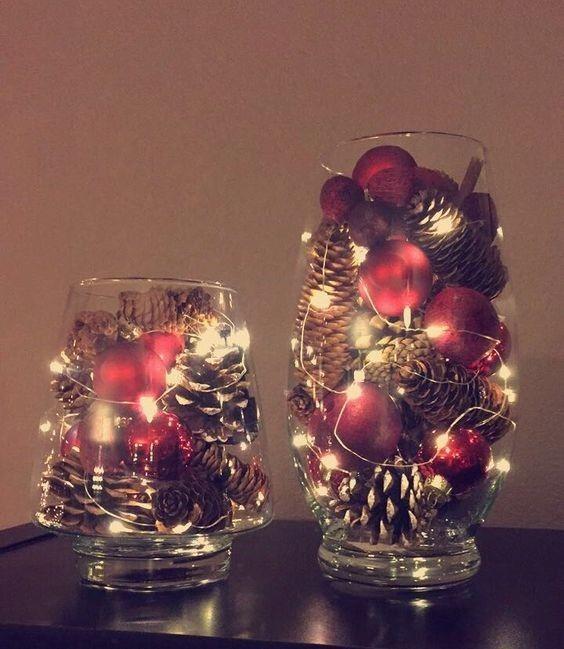 Über 100 günstige und einfache DIY-Weihnachtsdekor-Ideen, die Eleganz beweisen, sind nicht teuer #rustikaleweihnachtentischdeko