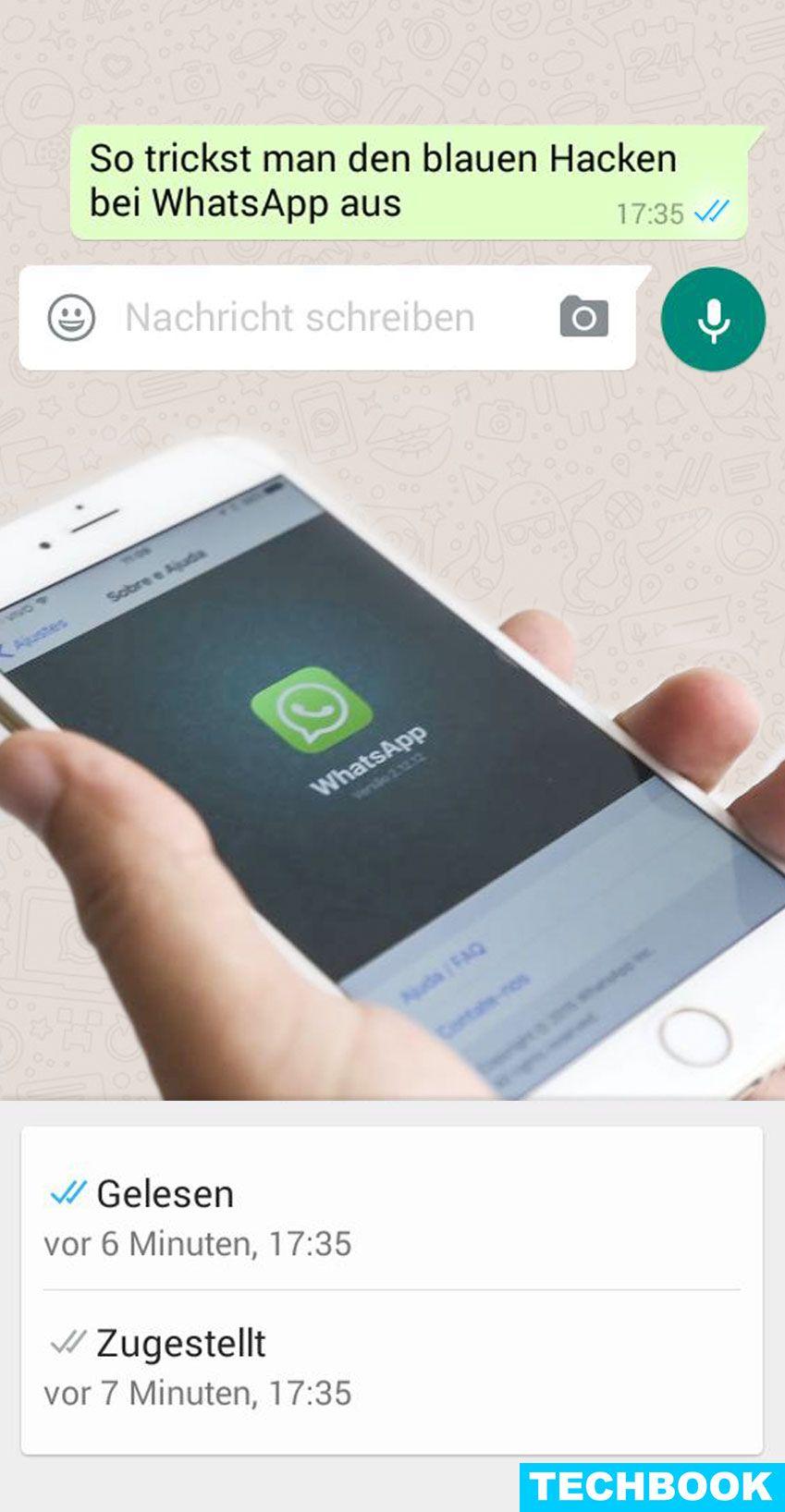 So Trickst Man Den Blauen Haken Bei Whatsapp Aus Iphone