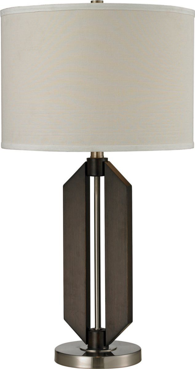 0 150888 Fetterville 1 Light 3 Way Table Lamp Morton Bronze Brush Steel Unique Table Lamps Lamp Table Lamp