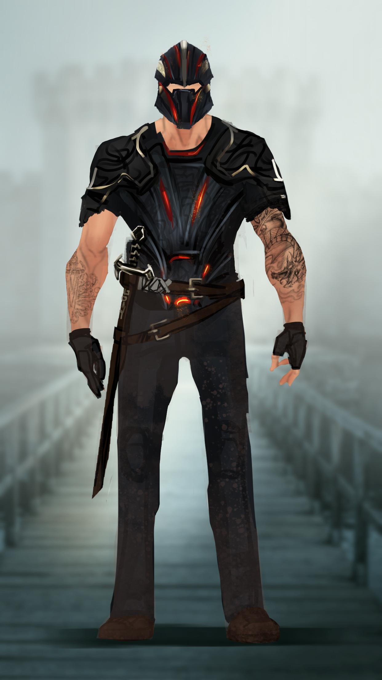 Black Knight Jacketless Mcu Quick Redesign Marvel And Dc Characters Blackest Knight Superhero Art