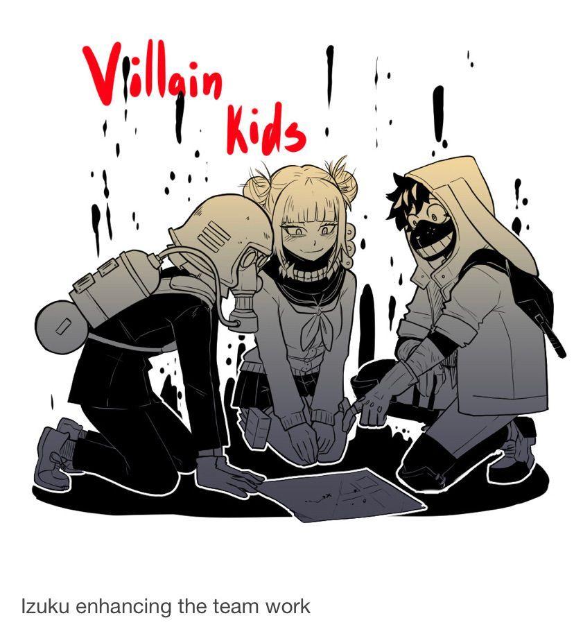 Ask Villain Izuku by Yan-lie Art