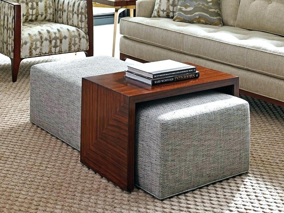 Storage Ottoman With Tray Cool Storage Ottomans With Tray Coffee